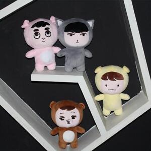 Mini Chanyeol Chen Kai Suho Sehun Kpop EXO xoxo Planet 2 EXO Plush Toy Doll Gift