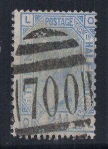 Grossbritannien-1880-Mi-51-Gestempelt-60-Koenigin-Victoria-2-1-2-P-L-O