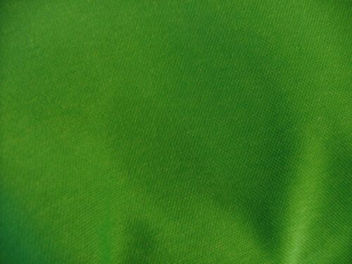 Polyester stretch interlock knitted fabric Mid green 145cm Wide New by Dcf