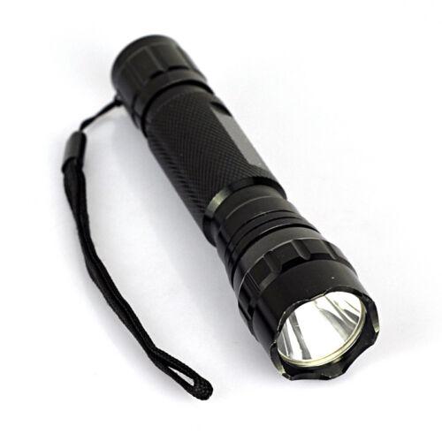 Tactical White Light LED XM-L T6 Hunting Flashlight W//Picatinny Rail Scope Mount