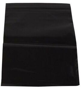500 Druckverschlussbeutel Tüten Tütchen Zipper Beutel 50mµ 110x160mm Schwarz