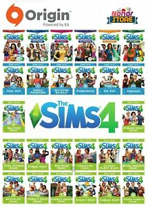 The-Sims-4-amp-All-Expansion-and-Stuff-Packs-Origin-Digital-Key-Code-For-Mac-PC