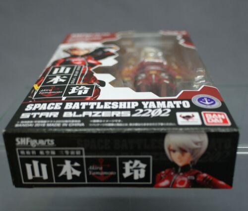 Figuarts Akira Yamamoto Space Battleship Yamato 2202 Bandai Japan NEW*** SH S.H
