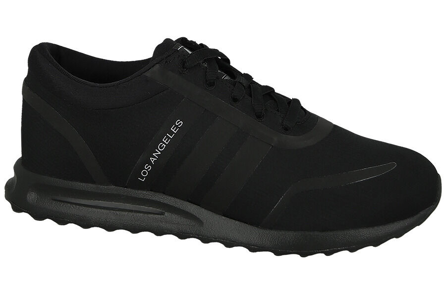 Adidas Originals Los Angeles J Chaussures pour Femmes Sportif Baskets Tissu Noir