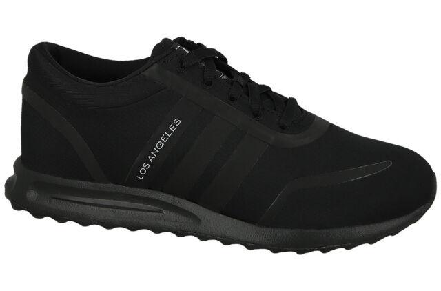 official photos e2947 0195f ADIDAS ORIGINALS LOS ANGELES J womens shoes sports sneakers black fabric