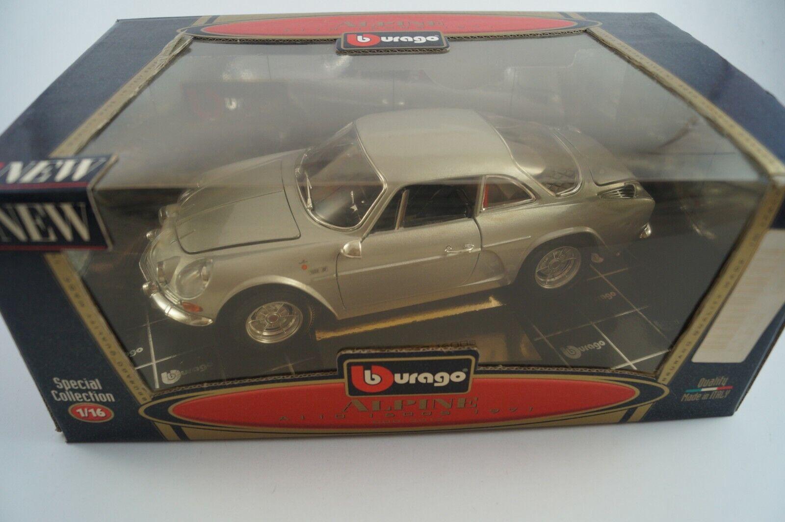 Bburago Burago Modellauto 1 18 Alpine A110 1600S 1971 Cod. 3012 in OVP
