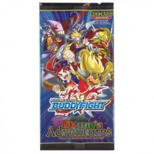 3 FUTURE CARD BUDDYFIGHT Drum/'s Adventures Pack Booster Set Vol