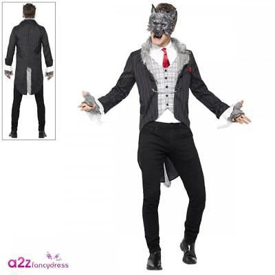 prezzo base tessuti pregiati ottima qualità Uomo Grand Lupo Cattivo Costume Mannaro Cappuccetto Rosso Halloween Fancy  Dress