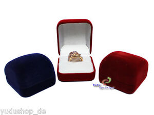 Fein Schmuckschachtel Ringetuis Ringbox Ringschachtel Verpackung Farben