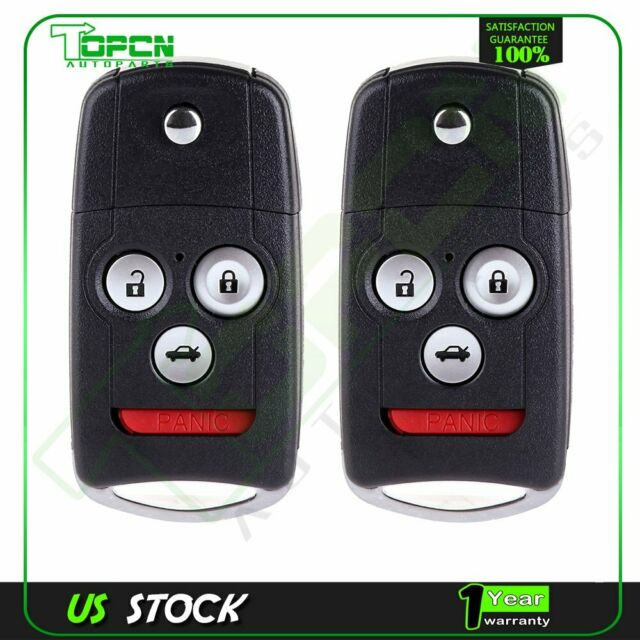 2* Car Key Fob Shell Case For Acura TL New Replacement