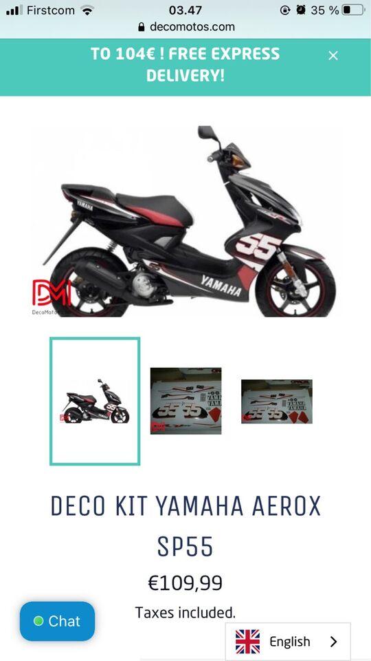 Yamaha Aerox osv, 2021
