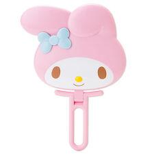 My Melody Face shaped hand Mirror folding pink ❤ Sanrio Japan