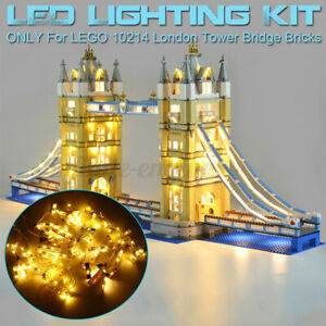 LED-Light-Lighting-Kit-ONLY-For-LEGO-10214-London-Tower-Bridge-Bilding-Block