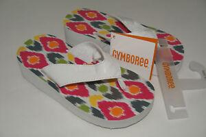 Batik Summer Girls Gymboree Sandals Shoes Size 9 10 NEW