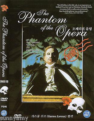 Phantom of the Opera - Charles Dance Burt Lancaster  (NEW) Classic Opera DVD