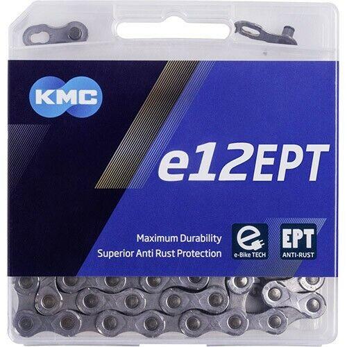 KMC Kette e12 EPT E-Bike 130 Glieder silber