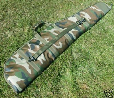 Padded Camo Camouflage Gun Bag Rifle Slip Air Rifle Case Carry Carrier Bag