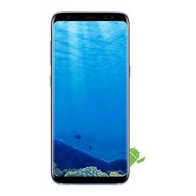 SAMSUNG Galaxy S8 - 64 GB, Coral Blue - Currys