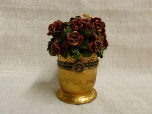 Boyds-Bear-Cupid-039-s-Bouquet-W-Petals-McNibble-Treasure-Box-82060-NIB