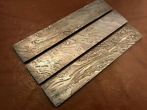 Handmade Damascus Steel Billet-Bar-Knife Making Supplies High carbon steel