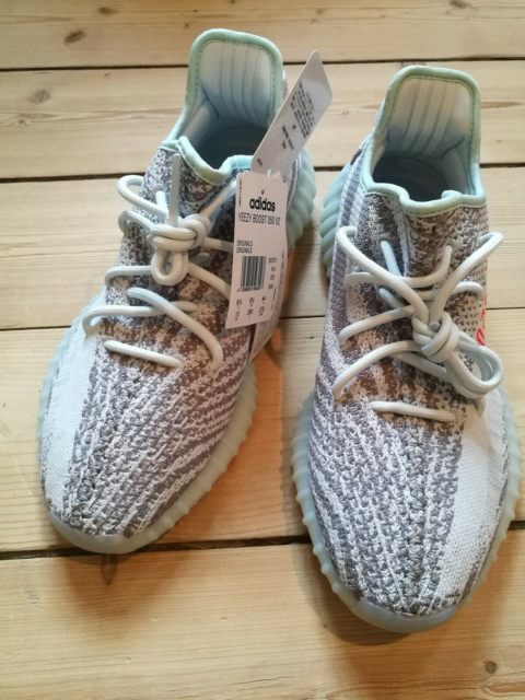 Sneakers, Adidas Yeezy Boost 350 V2 'Blue Tint', str. 45,5,…