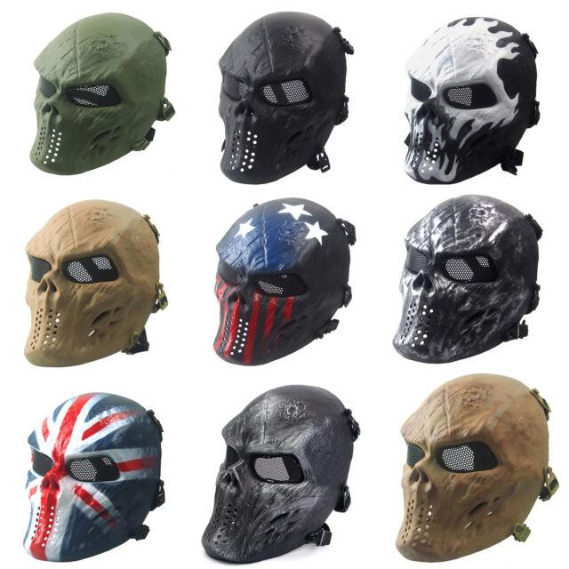 Headband//Helmet Strap For Airsoft Paintball Full Face Skull Skeleton CS Mask OT