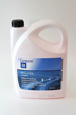 ORIGINALE OPEL PROTEZIONE ANTI GELO ROSSO 5 litri 1940678 93165162 ANTIGELO