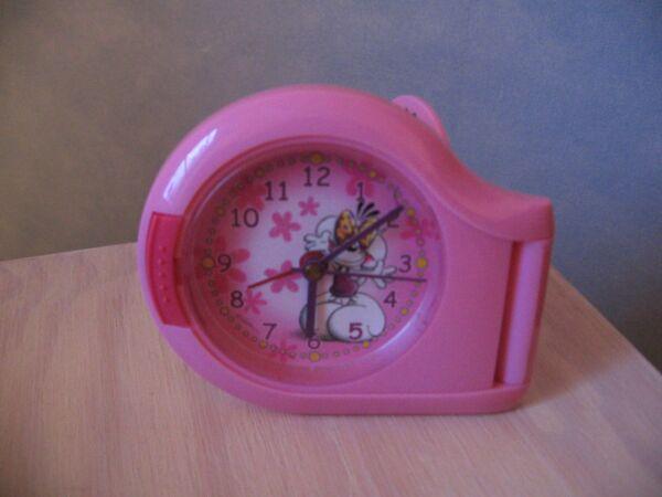 Diddl Wecker Uhr Reisewecker Kinderwecker Kinder Rosa Pink Maus Eine GroßE Auswahl An Modellen