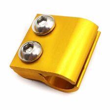 Aluminum GOLD Brake Line Clamp For SUZUKI  RM125 250 01-13 RM85 02-15 DRZ400SM