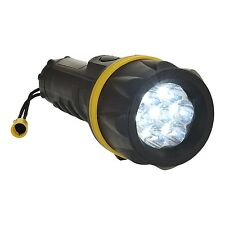 ATEX 7LED Torch Bright Light Energy Saving Spotlight Waterproof Shockproof 190mm
