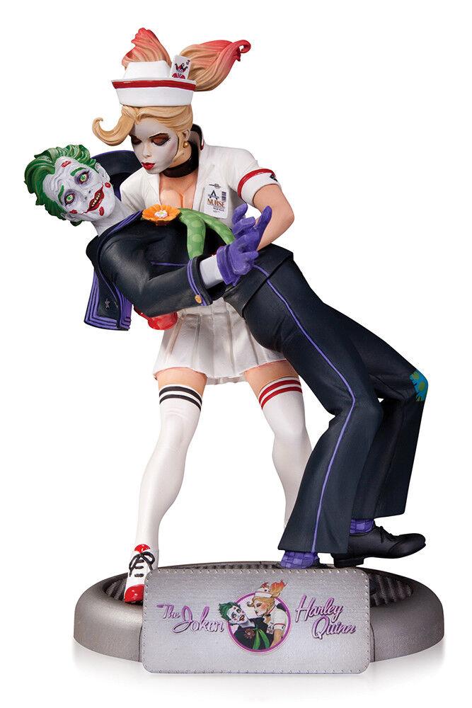 Bombshells statue Joker & Harley Quinn Statue Batman DC Collectibles 1ère éd.