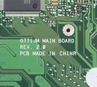 For Asus G771J G771JW G771JY G771JM Motherboard W// i7-4710HQ Mainboard GTX860M