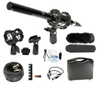 Broadcasting Microphone Holiday Bundle For Canon Eos 5ds Digital Camera