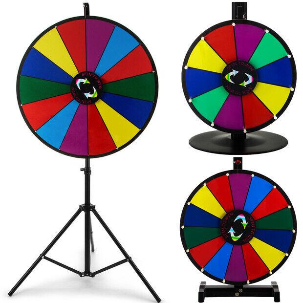 24 18 15 Glücksrad Spielzeug Farbe Rad Spiele für Lotteriespiele Wortspiele