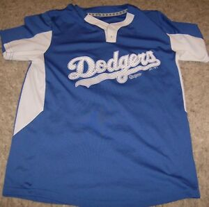 e75608f5 MLB Los Angeles Dodgers #2 Blue Cool-Base Pullover 1/4 Button Shirt ...