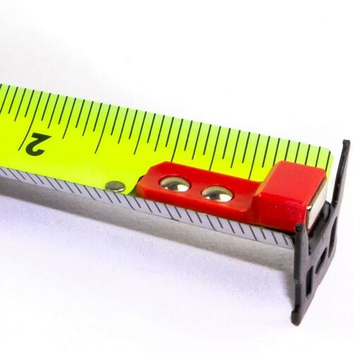 "Komelon Magnetic Contractor TS Tape Measure 25/' x 1.25/"""