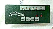 RV CAMPER Ameri-Camp WATER TANK & BATTERY INDICATOR Light  PANEL AC LED 3 TANK