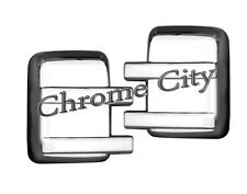 09 14 FORD F150 CHROME TOWING MIRROR COVER TRIM MOLDING F150 2009 2010 2014