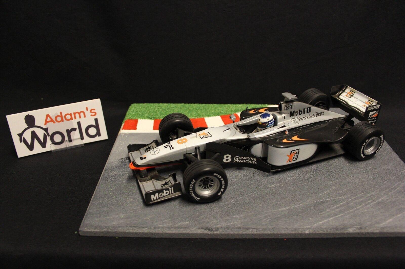 Minichamps McLaren Mercedes MP4-13 1998 1 18  8 Mika Hakkinen (FIN) (F1NB)