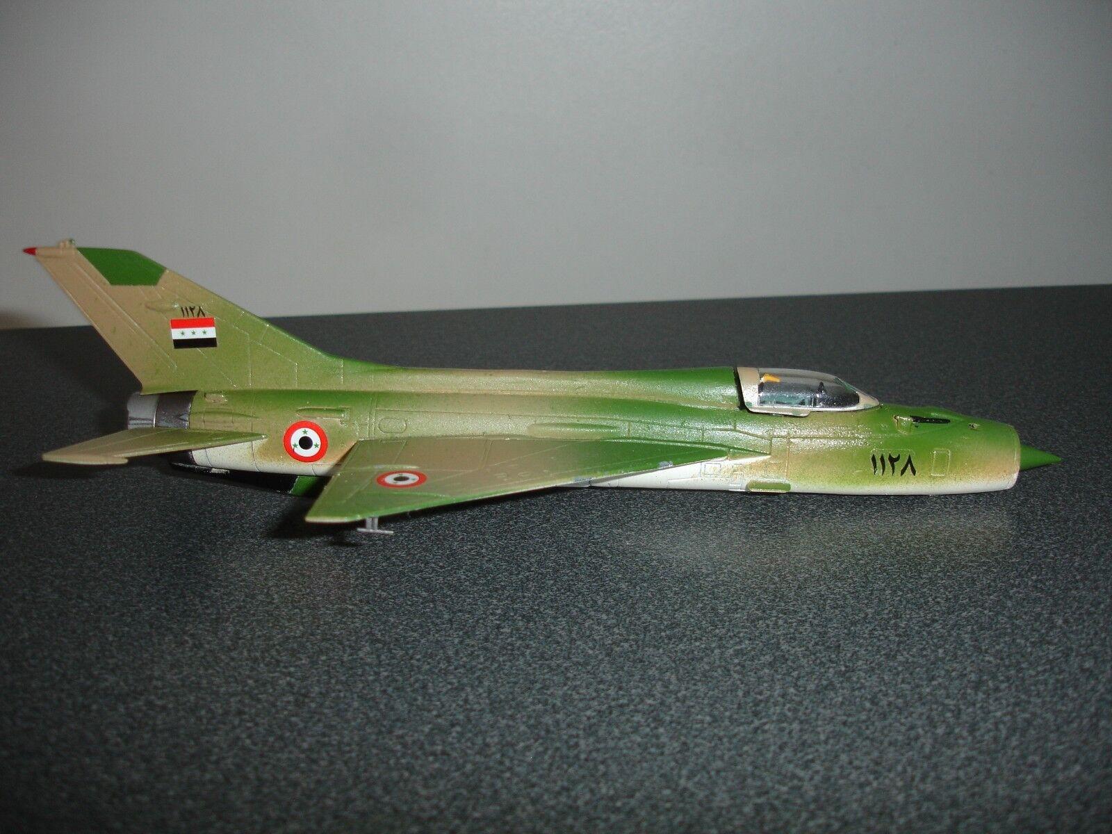 Corgi 1 72 MIG-21FL  FISHBED D Syrian Arab Air Force (Code 3)
