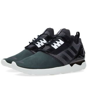 reputable site 2a378 2d6de Image is loading Adidas-Men-ZX-8000-Boost-black-white-B26366