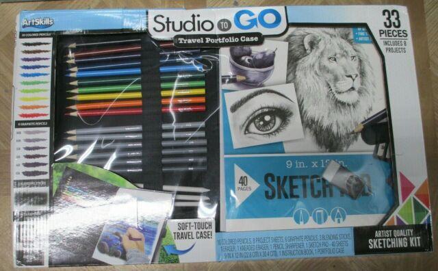 ArtSkills Studio to Go Travel Portfolio Case