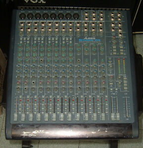 used alesis studio 24 mixer recording console with inline monitor ebay. Black Bedroom Furniture Sets. Home Design Ideas
