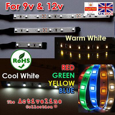 LED Lighting Strips for 6V/12V (Self Adhesive & Ultra low Temperature)