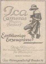 Y6183 ICA Cameras - Kinamo - Pubblicità d'epoca - 1925 Old advertising