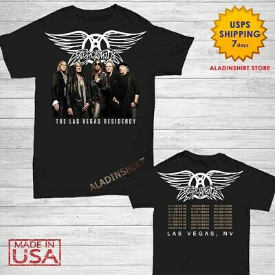 AEROSMITH 2019 Deuces Are Wild T Shirt Las Vegas Residency concert tour