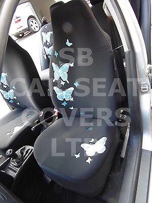 Car seat covers fit Citroen DS5 black//beige  leatherette full set