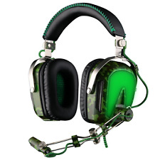 SADES A90 Pilot Professional 7.1 USB Surround Sound PC Stereo Gaming Headphones
