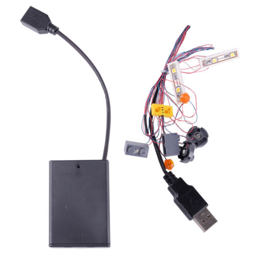 Lighting Kit LED For LEGO 10220 VW CAMPER VAN USB Interface LED LIGHT KIT ONLY