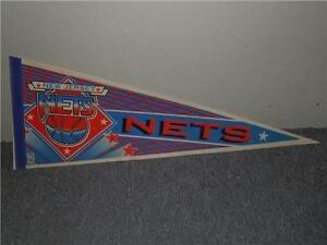 New-Jersey-Nets-Brooklyn-Wincraft-90s-Large-30-034-x12-034-NBA-Basketball-Felt-Pennant